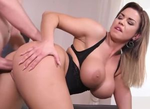 Ample jugs sex industry star bj with..