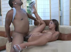 Suntanned Japanese  juggles on a Big..