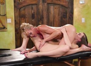 Sapphic Massage-Brandi Enjoy is a..