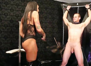 Mistress trap lashing after getting..
