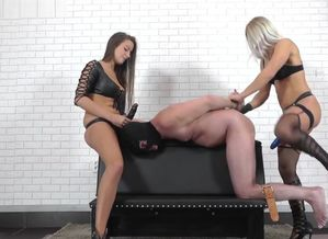 Domina Zita and Domina Amanda - Dp'd