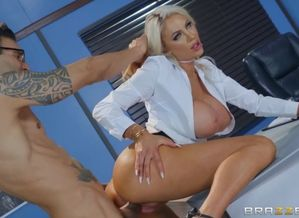 Nicolette Shea & Alex  in The  From..