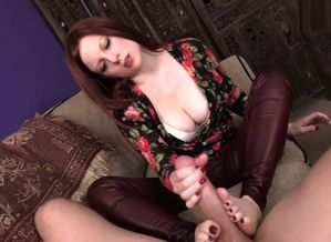 Mommy's Large  – Hj & Footjob by..