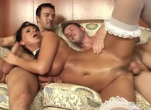 Insatiable adult  Gang-fuck..