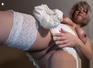 Mature English Fledgling in Girdle &..