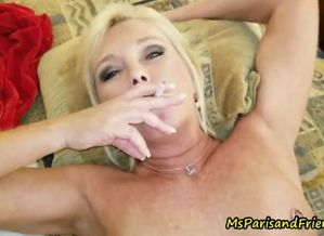 Ms paris rose is smoking super hot..
