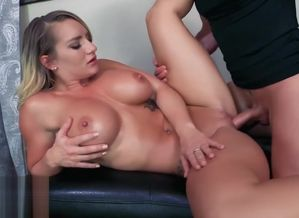 Cali Carter: Fit Nymph Pays with Slit