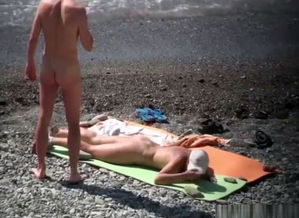 Injured naturist resting by the river