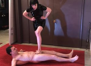 Ballbusting: Miss Snow Grace ruins the..