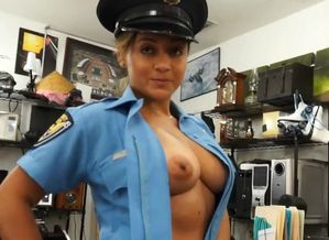 Police officer pawns her stuff and..