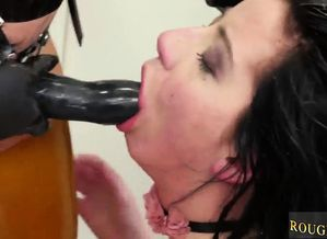 Vulva eating restrain bondage fetish..