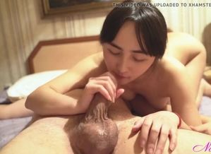 Japanese maiden blowing lollipop and..