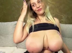 Massive large bumpers maiden camgirl..