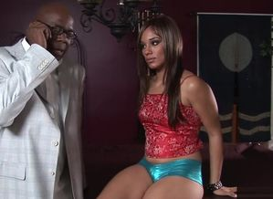 Horny adult movie star Alicia Taunt in..