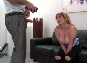 Faux Agent Spanish stunner with thick..