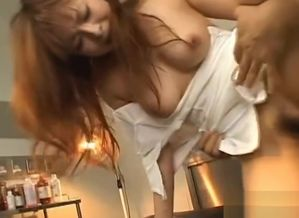 Splendid Asian Nurse Gets Dollar Naked..