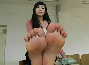 Sock and nude soles