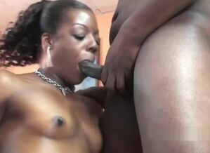 Ebony housewife Anastasia is..