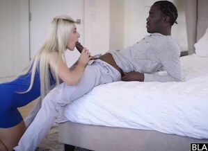 Stepsisters share big black cock