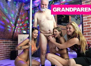 Santa's Checking 2 Strippers Two times