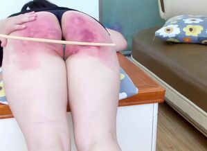 [Chinesespanking] H114 Stiff Slapping..