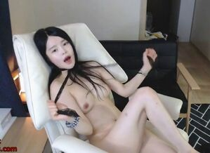 Korean little girl camgirl has joy..