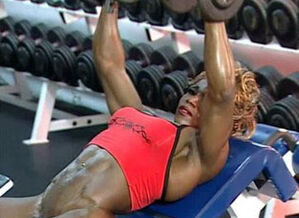 Desiree Ellis 05 - Nymph Bodybuilder