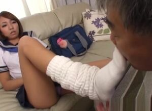 Crazy Japanese nubile is caught..
