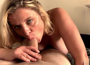 Stepmom helps stepson with his raw..