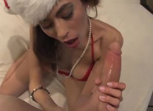 Marvelous santa honey Heather gives..